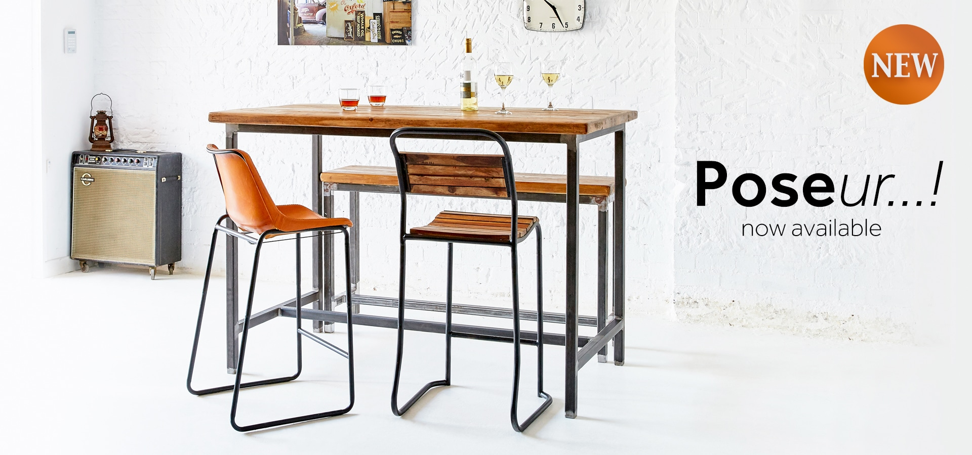 Poseur...! Reclaimed Furniture Range