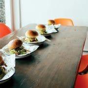 Walnut Lac Table