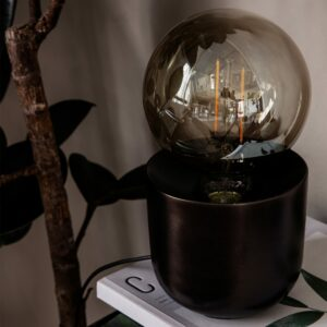 Heyl_Table lamp_Gleam_Antique brown