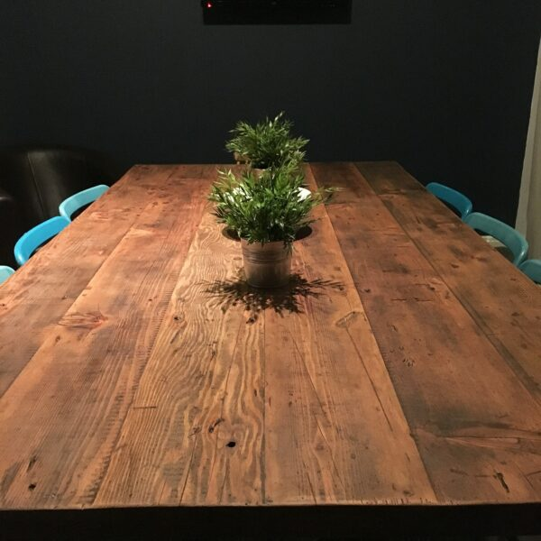 Brown Rustic Table