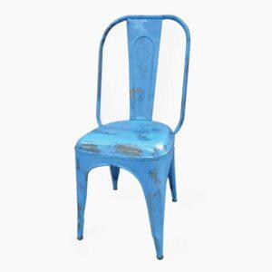 Iron Chair Blue