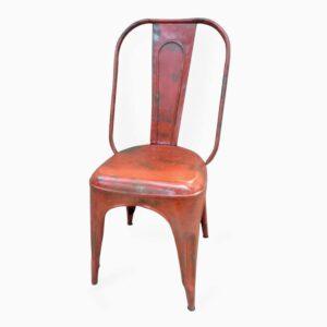Iron Chair Orange