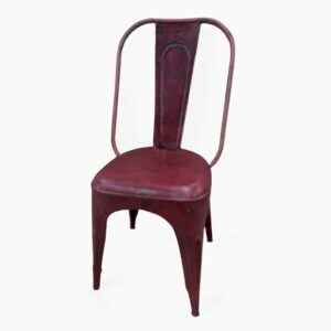 Iron Chair Red