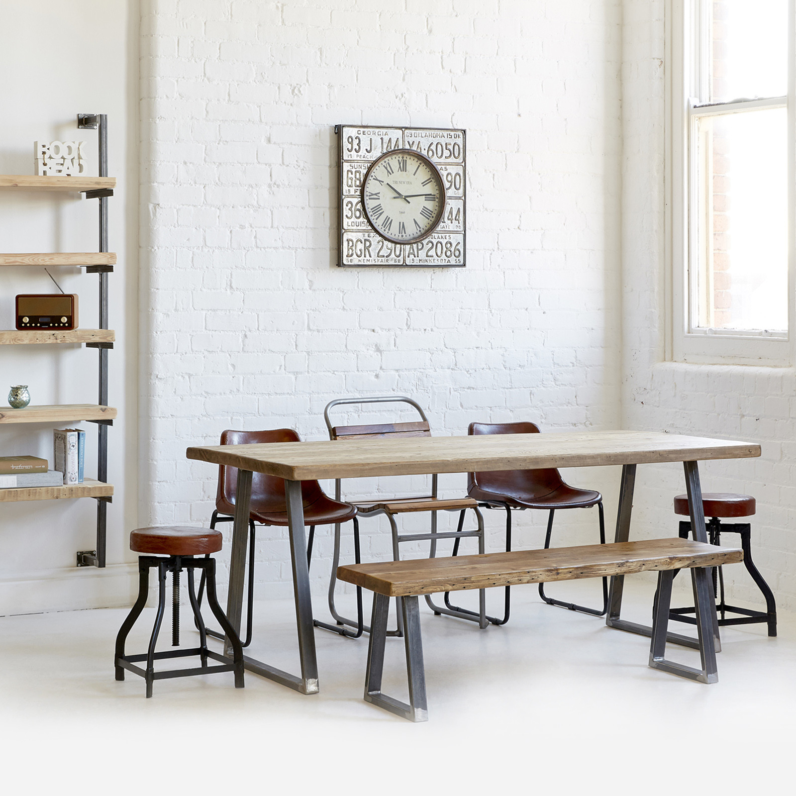 Triangle Frame Dining Table Heyl Interiors