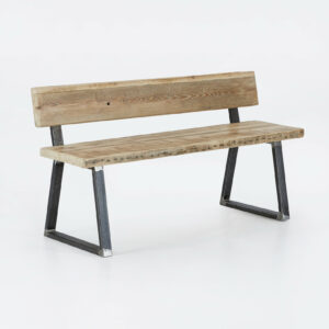 Matching bench with back - Triangle
