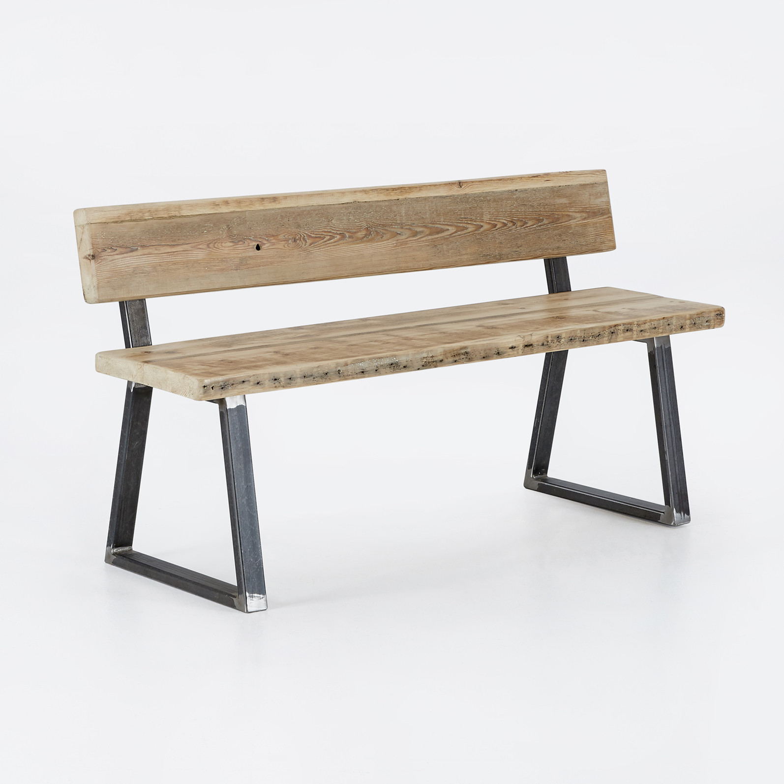 Matching bench with back – Triangle