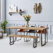 Dining Table - V Base