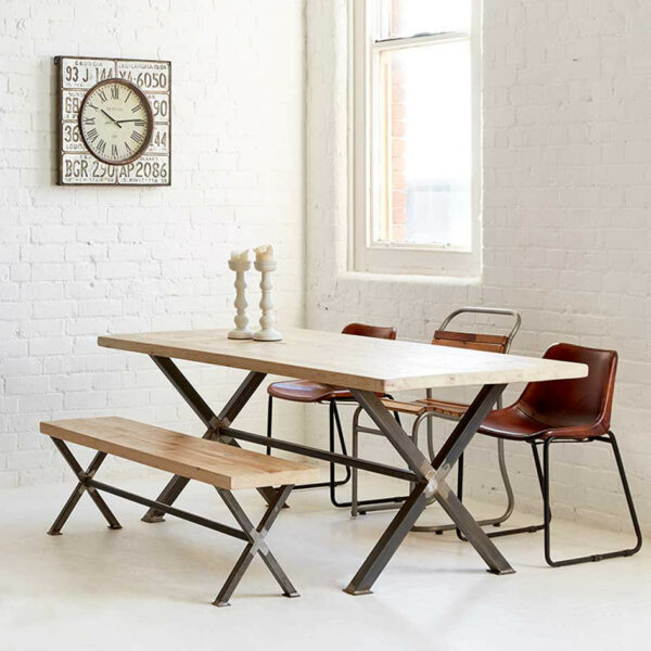 Dining Table - X Frame
