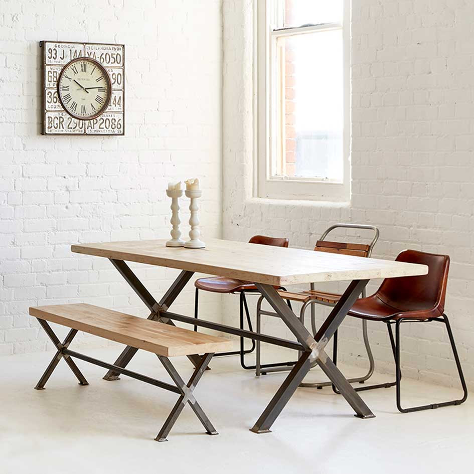 X Frame Dining Table - Heyl Interiors