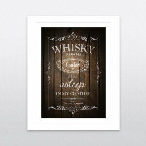 whisky print