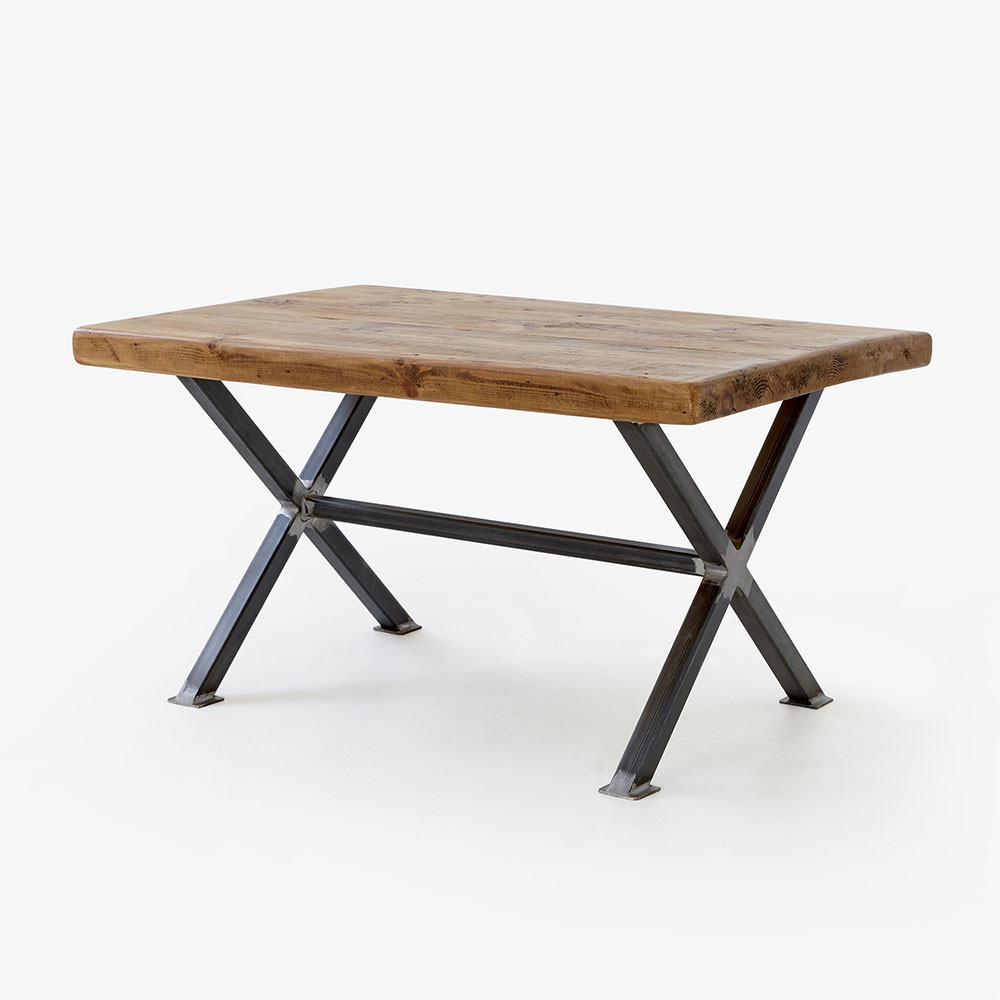 Matching Coffee Table – X Frame