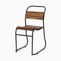Wooden Slatted Chair