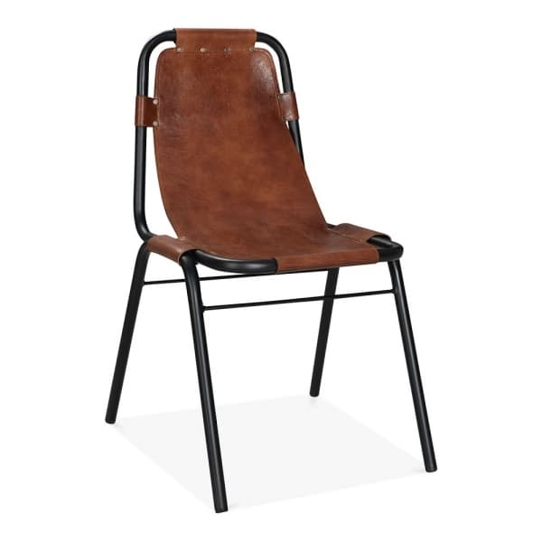Brown Industrial Chair