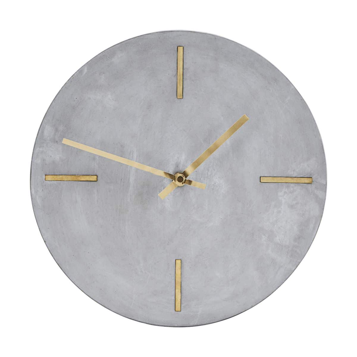 Concrete Wall Clock