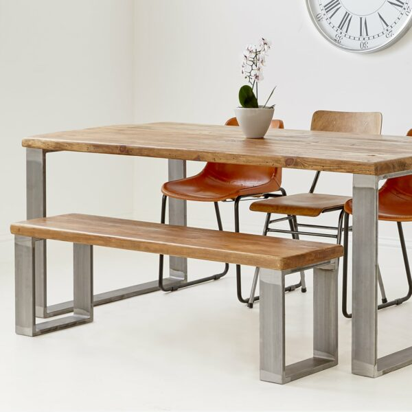Cube base bench