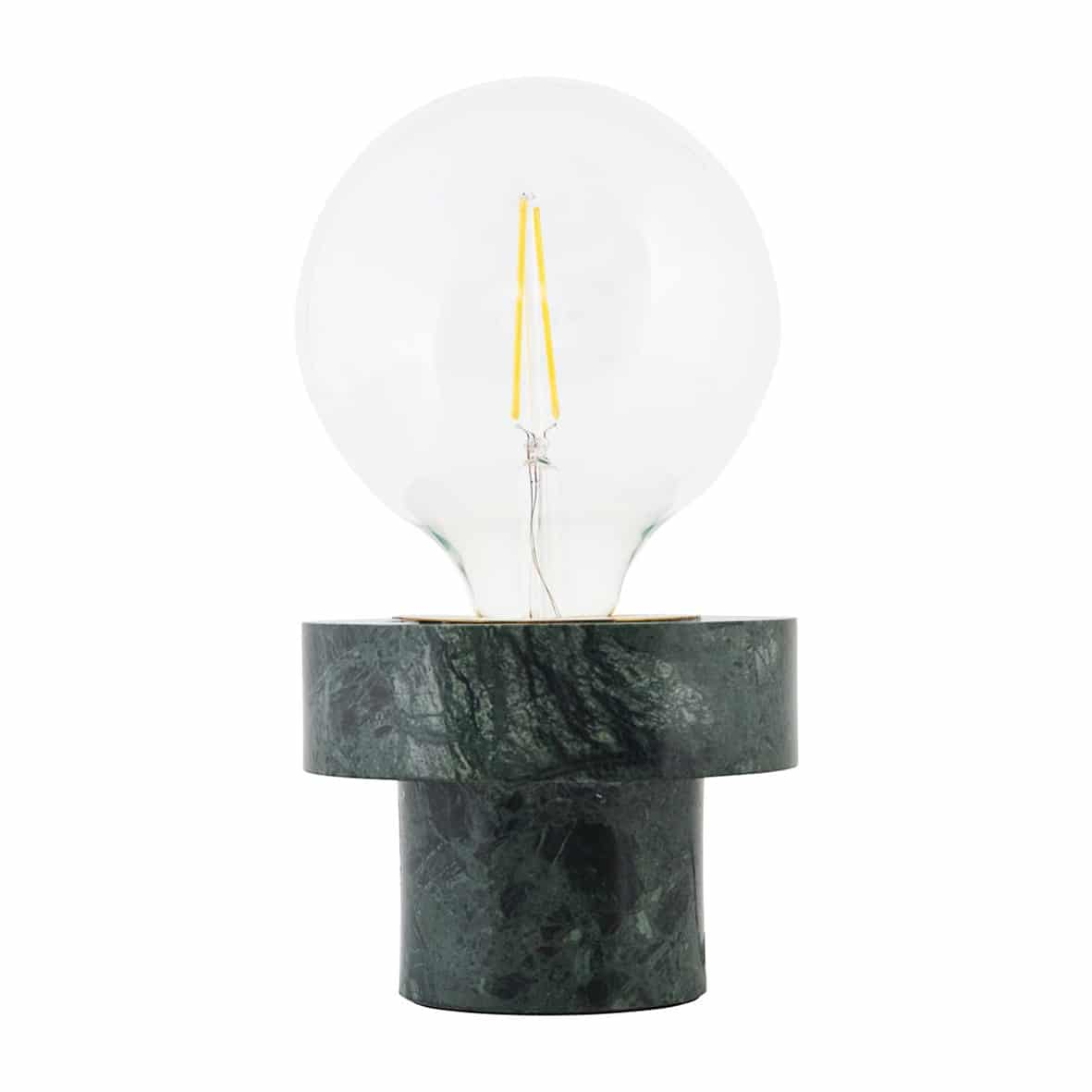 Lamp Pin Green Marble