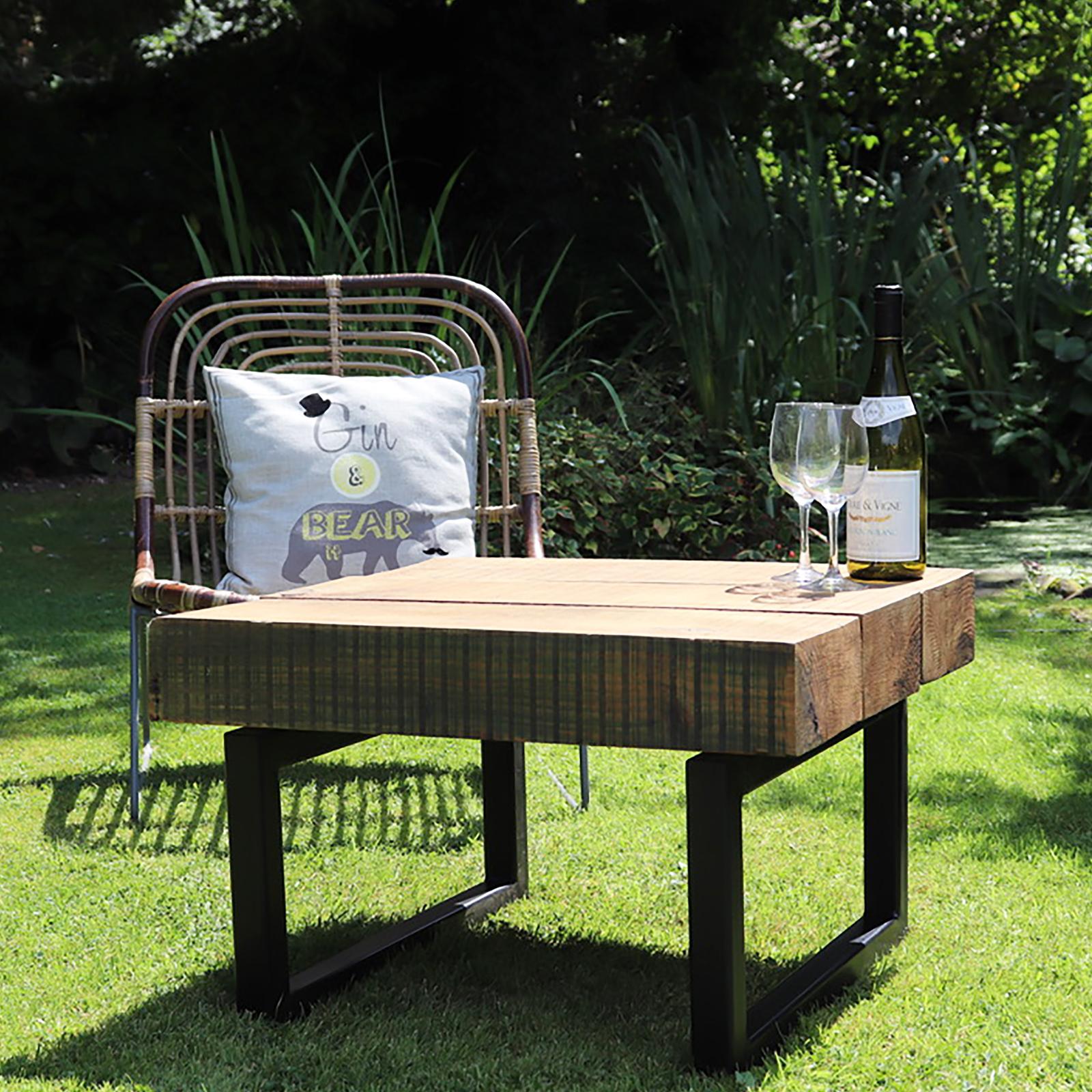 Outdoor Sleeper Coffee Table Box Frame Heyl Interiors