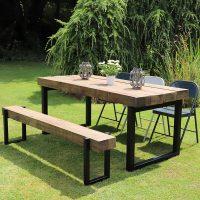 Reclaimed Outdoor Furniture | Heyl Interiors
